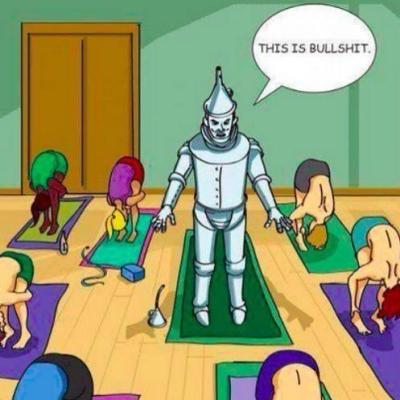 bender beim yoga